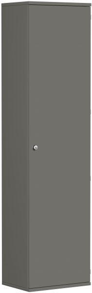 Garderobenschrank mit ausziehbarem Garderobenhalter, 60x42x230cm, Graphit | Flur & Diele > Garderoben > Garderobenschränke | Graphit | Geramöbel
