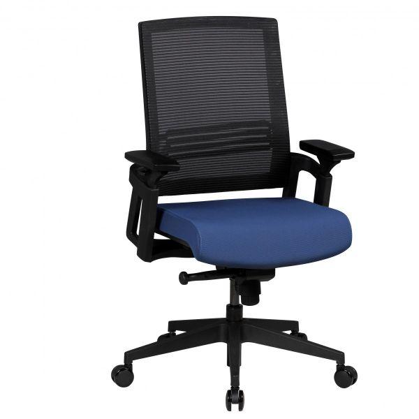 APOLLO A2 Bürostuhl Schreibtischstuhl, Netzbezug Blau