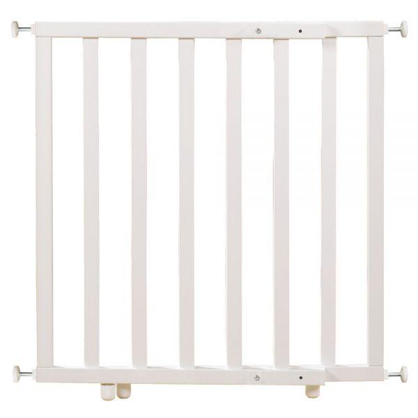 Türschutzgitter 63-114cm weiß