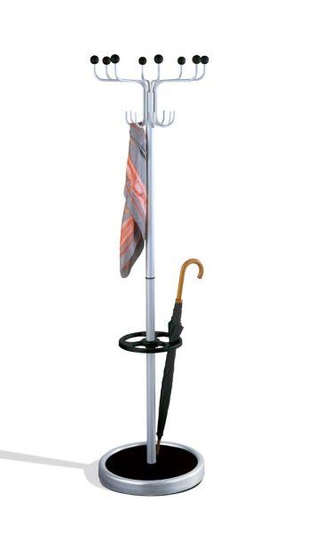 Garderobenständer Rondo 6082 mit Schirmhalter und Standfuß
