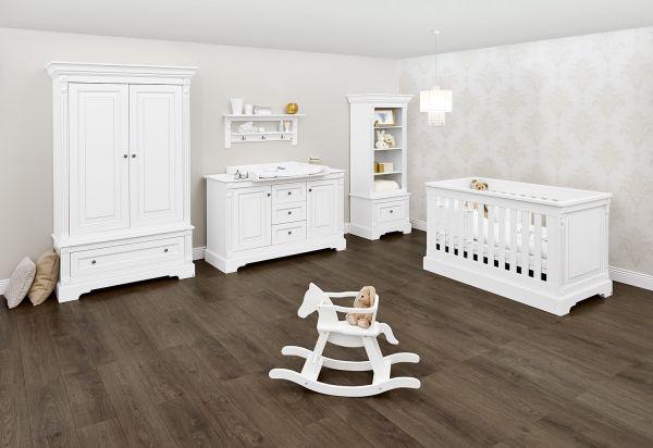 Kinderzimmer 'Emilia' extrabreit, weiß