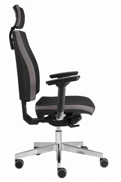 Bürodrehstuhl Premium 1 Schwarz