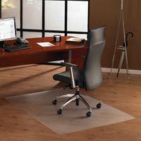 Bodenschutzmatte, 75 x 120 cm, rechteckig, transparent