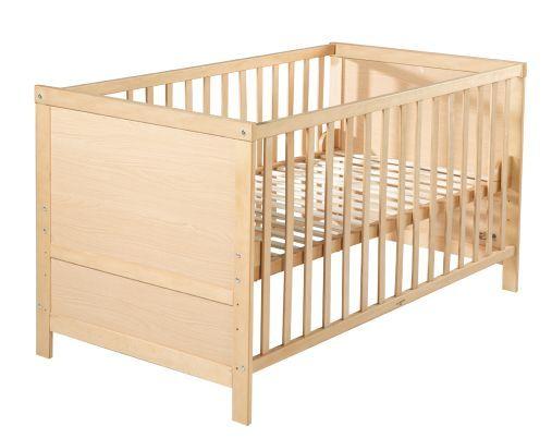 Kombi-Kinderbett 'Lene' 70x140cm Dekor Ahorn