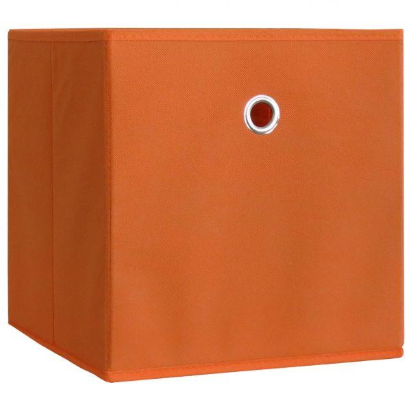 10er-Set Faltbox Klappbox Boxas - ohne Deckel - Orange