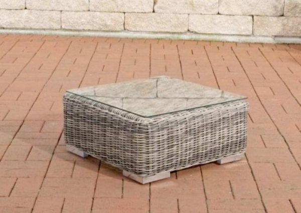 Beistelltisch Ariano 56x56 cm, grau-meliert
