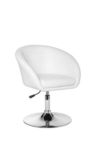 LIFT Relaxsessel, Loungesessel, Kunstleder Weiß