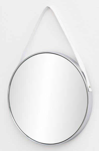 Wandspiegel Spiegel mit Rahmen Flurspiegel Rund 42x61x4 cm Silber