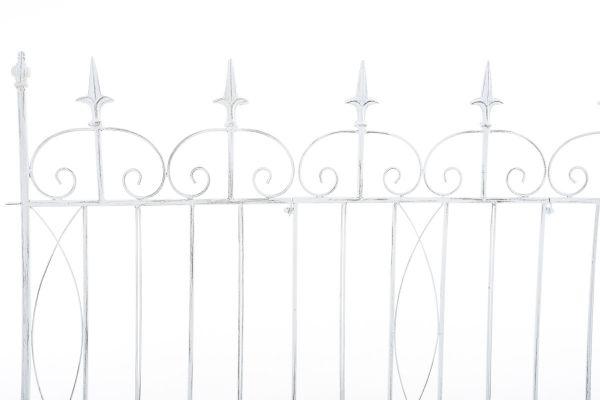 Gartenzaun Mangold, antik weiß