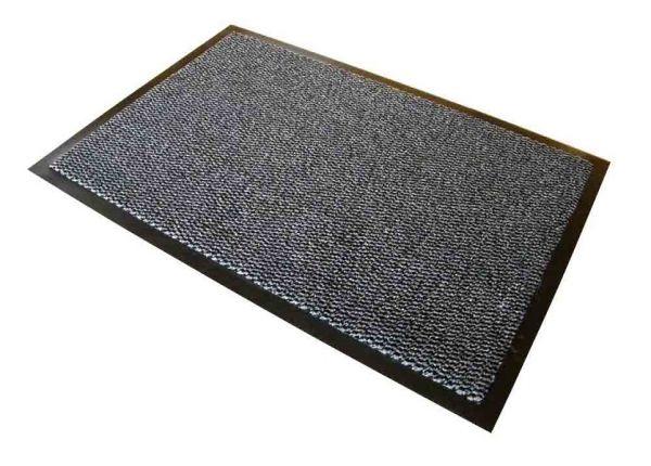 Schmutzfangmatte, 120 x 300 cm, schwarz/weiß meliert