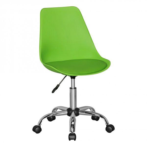 KORSIKA Drehstuhl Schreibtischstuhl, Kunstleder Grün
