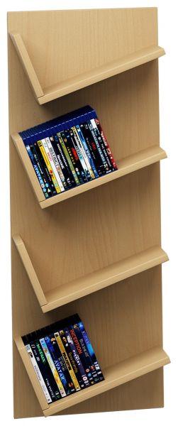 CD/DVD-Regal Lansi - Buche | Wohnzimmer > TV-HiFi-Möbel > CD- & DVD-Regale | VCM-Möbel