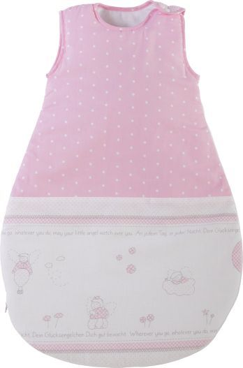 Schlafsack 'Glücksengel Rosa' 70cm rosa