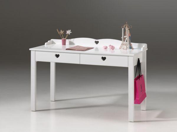 Schreibtisch Amori, Weiß