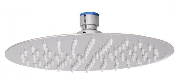 Luxus Edelstahl Einbau Regendusche - Regenbrause 20 cm - Duschkopf rund mit Anti-Kalk Düsen