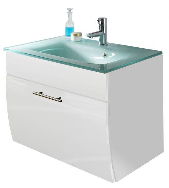 Waschbeckenunterschrank mit Waschbecken, weiss, Salona