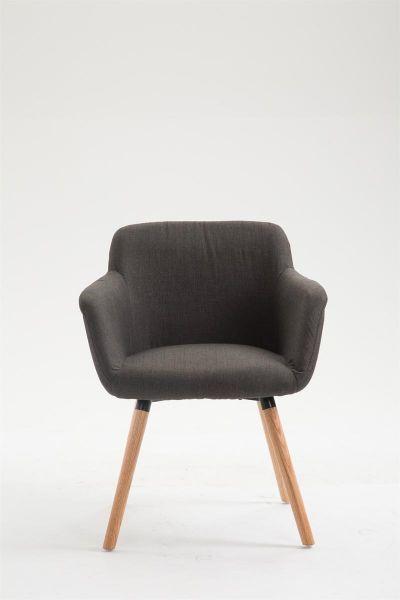 dunkelgrau stoff Besucherstühle online kaufen | Möbel