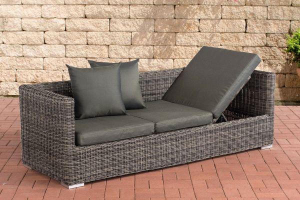 Lounge-Sofa Solano 5mm Anthrazit, grau-meliert