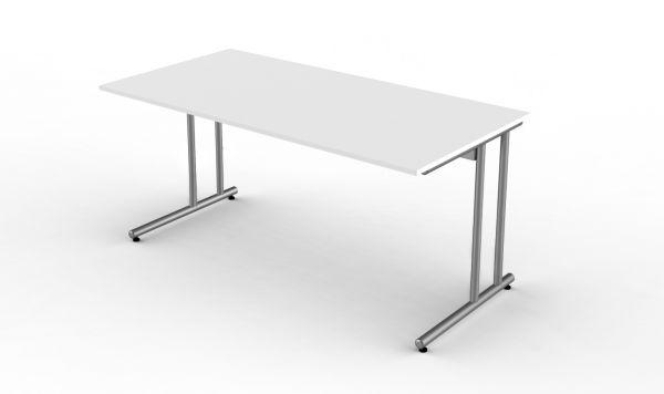 Kerkmann Schreibtisch Start Up, C-Fuß Gestell