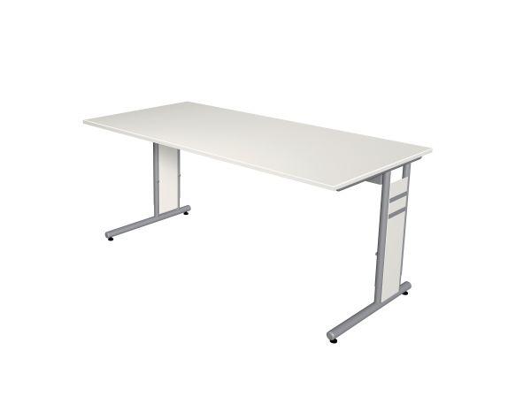 Kerkmann Schreibtisch Form4, C-Fuß Gestell