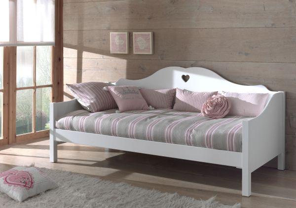Kojenbett 90x200 cm Amori, Weiß