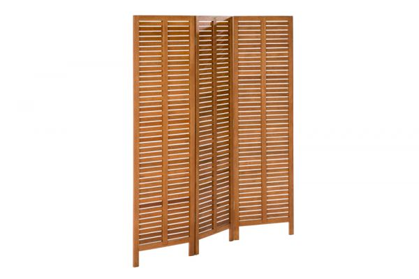 Paravent Holz, 150 x 170 cm