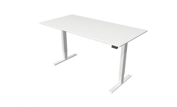 Start Up - Sitz-/Stehtisch, elektrisch höhenverstellbar - 160 x 80 cm - weiß