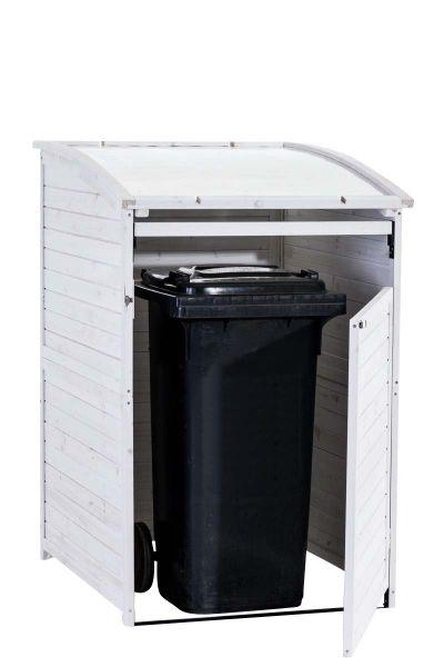 Mülltonnenbox MX240, weiß