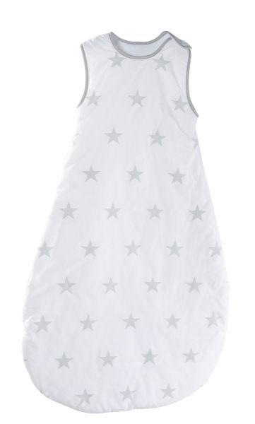 Schlafsack 'Little Stars' 110cm weiß