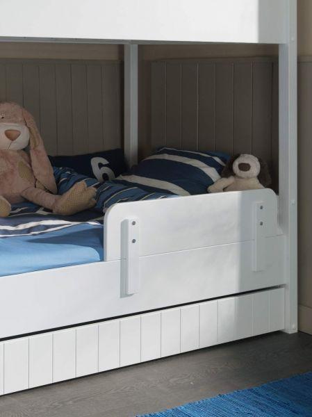 Bettseiten Paneel für Etagenbett Robin, Weiß