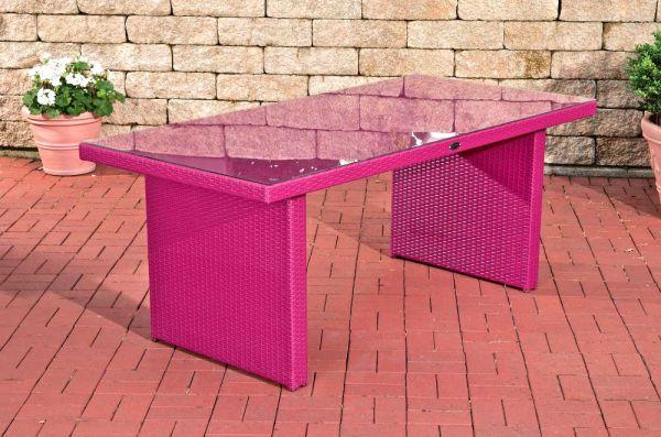 Tisch Avignon 180 cm, pink