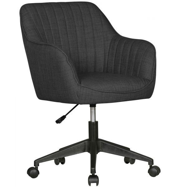 Schreibtischstuhl MARA Anthrazit Design Drehstuhl
