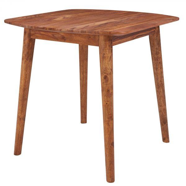 Esszimmertisch WL5.571 Sheesham 80x78x80 cm Massivholz Tisch