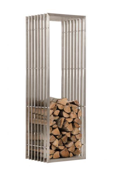 Kaminholzständer Irving 40x50x150, edelstahl