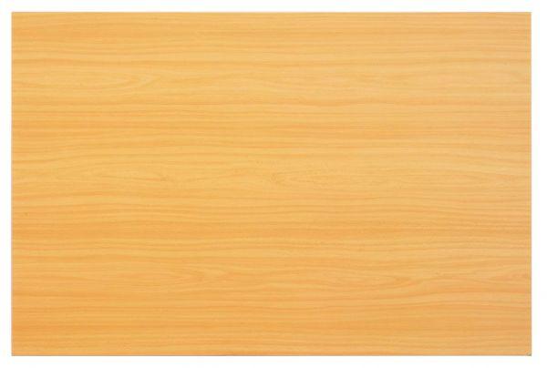 Tischplatte 120x80cm mit Systembohrung für Stützfuß, Buche