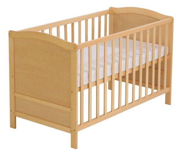 Kinderbett Buche gebeizt