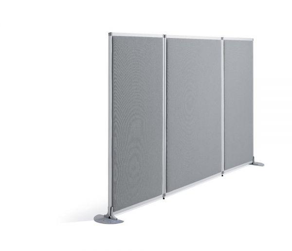 Stellwand MIAMI PLUS 160x81x4 cm, grau
