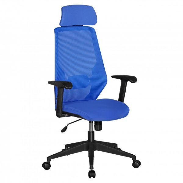 NETSTAR Bürostuhl, Schreibtischstuhl, Stoffbezug Blau