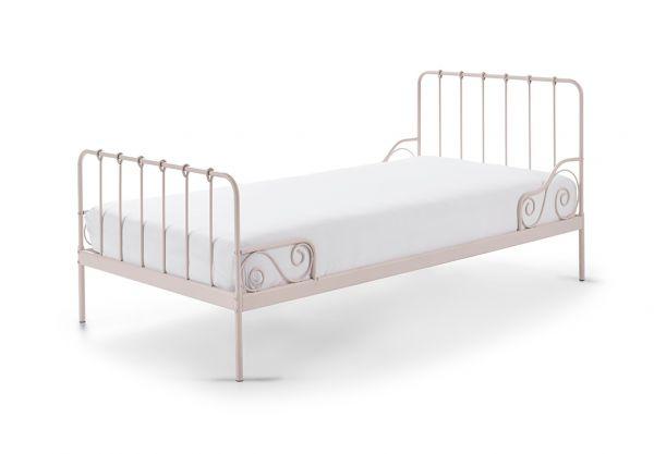 Metallbett Alice Liegefläche 90 x 200 cm rosa, rosa