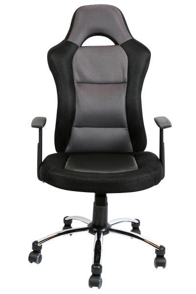 Bürostuhl Jerry, schwarz, grau