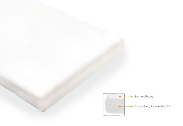 Matratze für Kinderbetten 'Schaumkern Komfort' klein, 120 x 60 cm