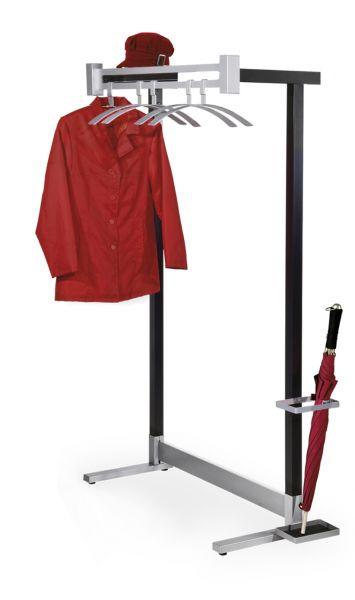 Wandständige Garderobe Montana 6553 (Optional mit Haken,Kleiderbügeln,Schirmhalter)