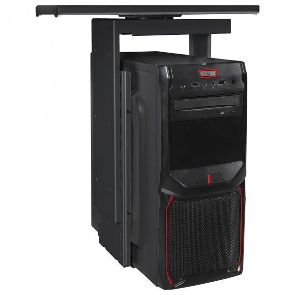 PC-Halter 360° drehbar Universal Computerhalterung 46 - 68 cm schwarz