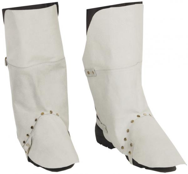 10 Paar - Bein- & Fußschutz, weiß