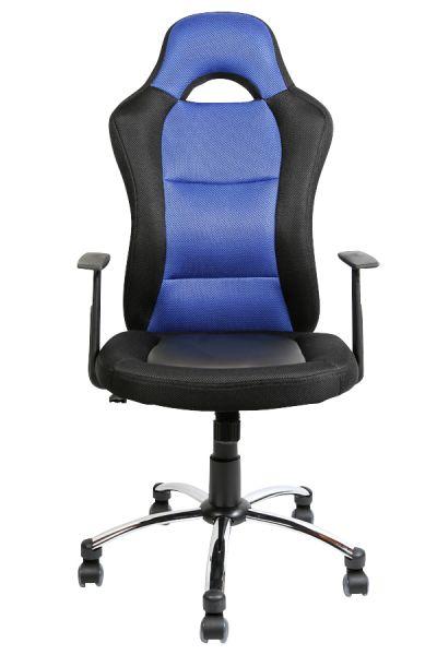Bürostuhl Jerry, schwarz, blau