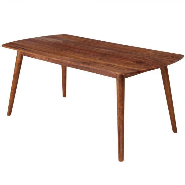 Esszimmertisch WL5.573 Holz 200x77x100 cm Sheesham Massivholz Tisch