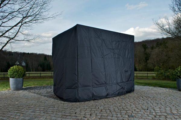 Abdeckhaube 220x150x180, schwarz