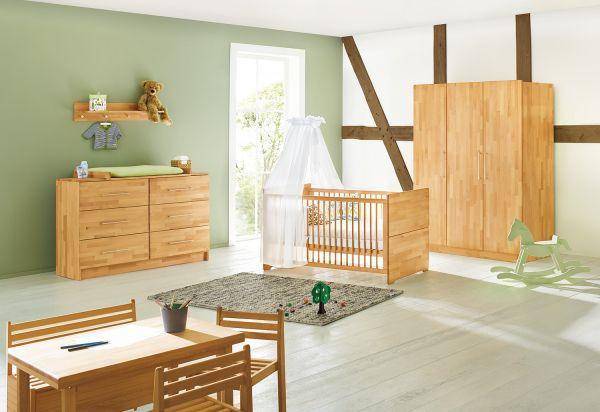 Kinderzimmer 'Natura' extrabreit groß, natur