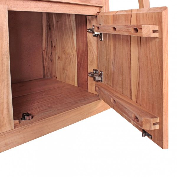 Sideboard BOHA Massivholz Akazie Kommode 150 cm 1 Schublade