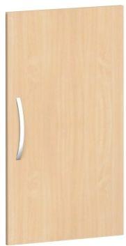 Flügeltür für Korpusbreite 40cm, 2 Ordnerhöhen, Buche